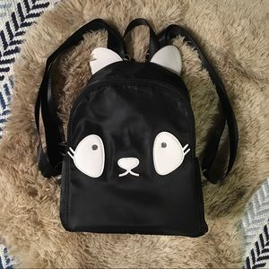 Adorable animal face NWT Kiss me couture backpack